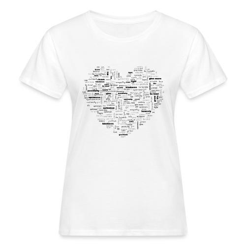 Heart Cluster - Women's Organic T-Shirt