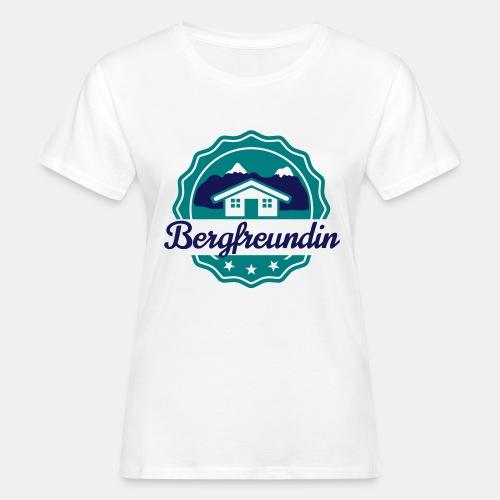 Bergfreundin - Frauen Bio-T-Shirt