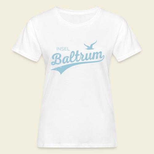 Baltrum-Logo Möwe - Frauen Bio-T-Shirt