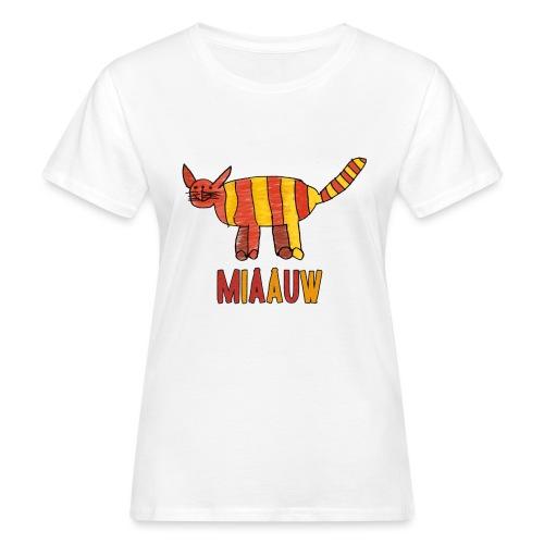 miaauw poesje - Vrouwen Bio-T-shirt
