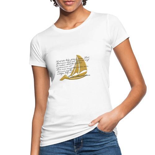 weltumsegeln - Frauen Bio-T-Shirt