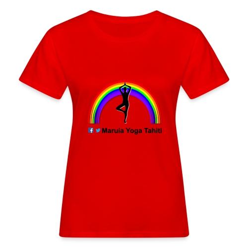 Logo de Maruia Yoga Tahiti - T-shirt bio Femme