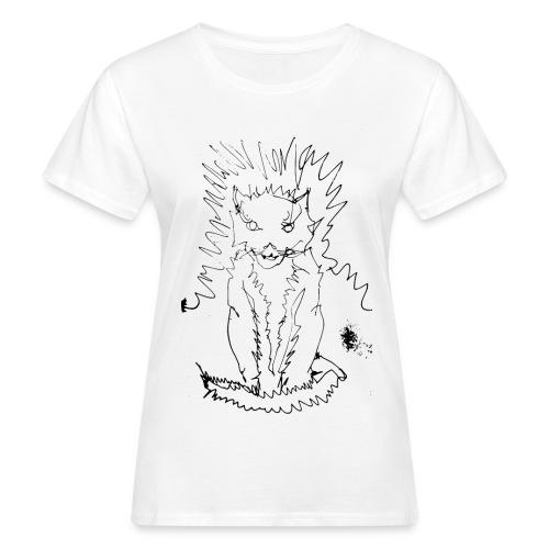 der graue Katzer - Frauen Bio-T-Shirt