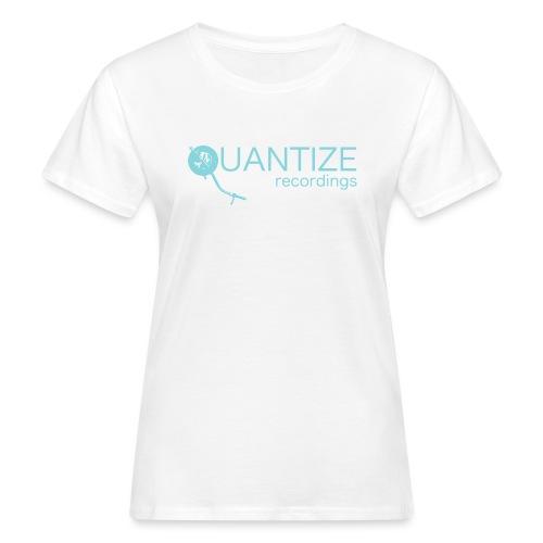 Quantize Blue Logo - Women's Organic T-Shirt