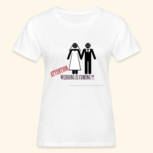 SPOSI - T-shirt ecologica da donna