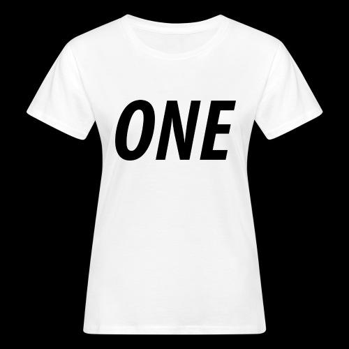 WEAREONE x LETTERS - Vrouwen Bio-T-shirt