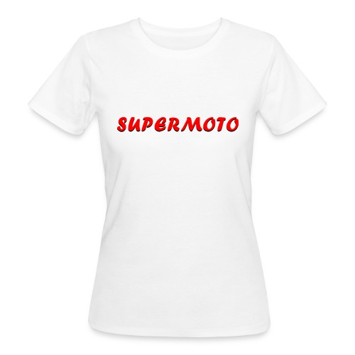 SupermotoLuvan - Ekologisk T-shirt dam
