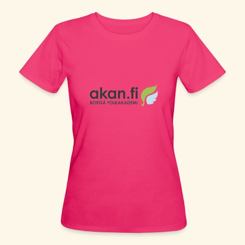 Akan Black - Ekologisk T-shirt dam