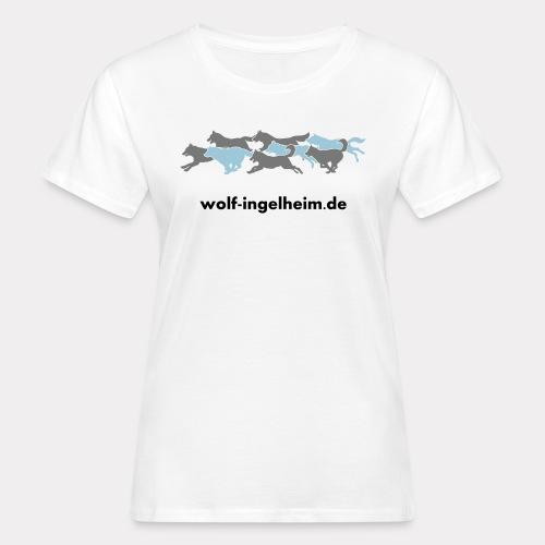 """Wolfsrudel """"Wolf-Ingelheim - Frauen Bio-T-Shirt"""