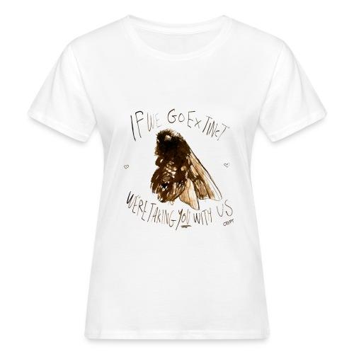 the bee - Women's Organic T-Shirt