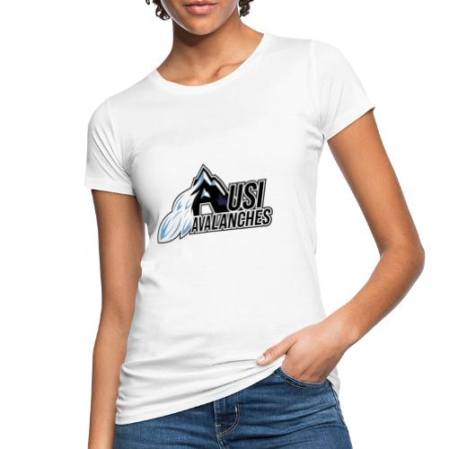 USI Avalanches white - Frauen Bio-T-Shirt