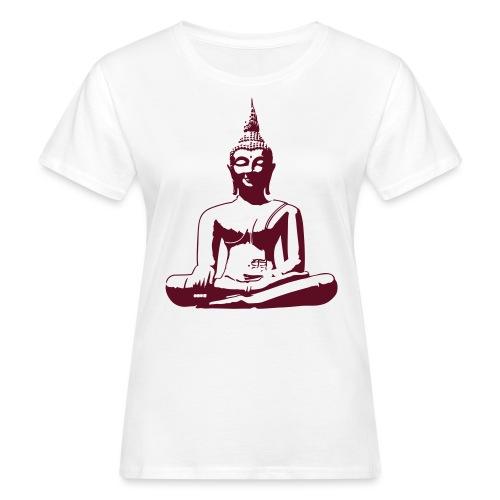 Boeddha beeld - Vrouwen Bio-T-shirt