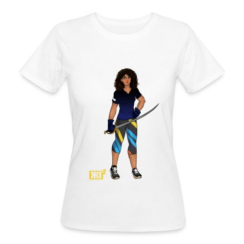 Sabre fencer - Women's Organic T-Shirt