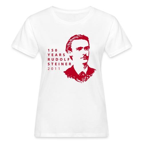 150 Years Rudolf Steiner 2011 - Frauen Bio-T-Shirt