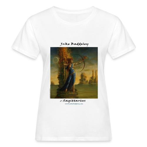 JakeBaddeley Sagittarius white - Women's Organic T-Shirt