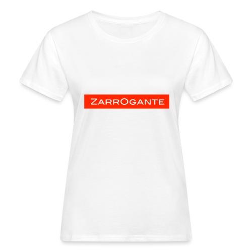 BasicLogoRed - T-shirt ecologica da donna