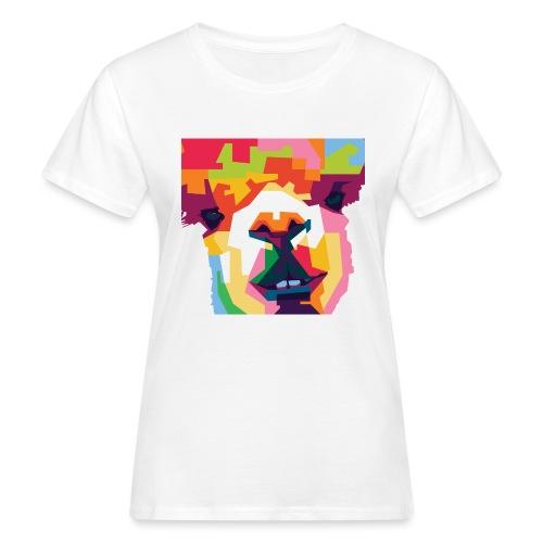 Alpaka WPAP Design - Frauen Bio-T-Shirt