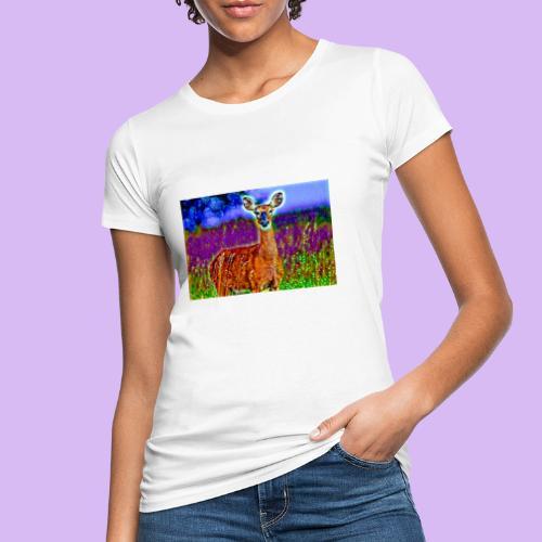 Cerbiatto con magici effetti - T-shirt ecologica da donna