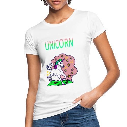 Einhorn unicorn - Frauen Bio-T-Shirt
