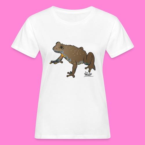Geelbuikvuurpad - Vrouwen Bio-T-shirt