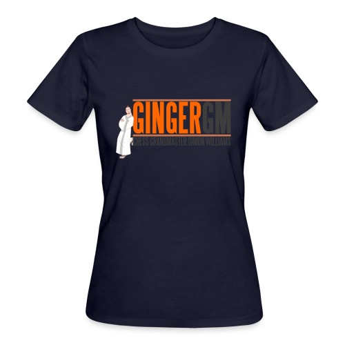 Ginger GM Logo - Women's Organic T-Shirt