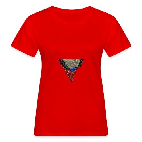 Large Graphite logo - Women's Organic T-Shirt