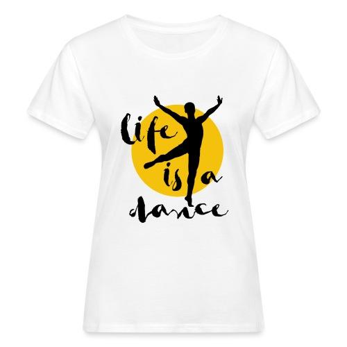 Ballett Tänzer - Frauen Bio-T-Shirt