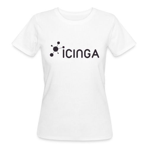 Icinga Icon Logo black large - Women's Organic T-Shirt