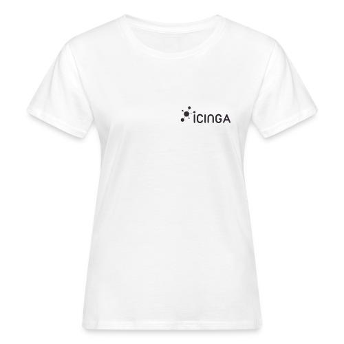Icinga Icon Logo black small right - Women's Organic T-Shirt