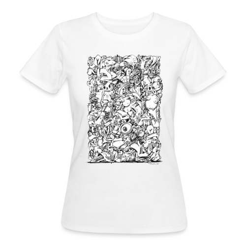 FRTZN Alphabet BLOCK - Frauen Bio-T-Shirt