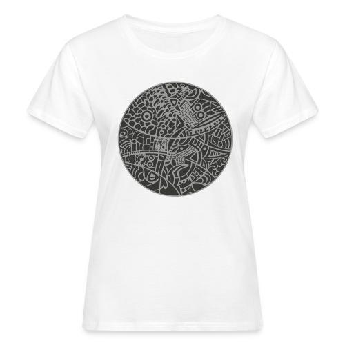 GlobeDesign-grey - Organic damer