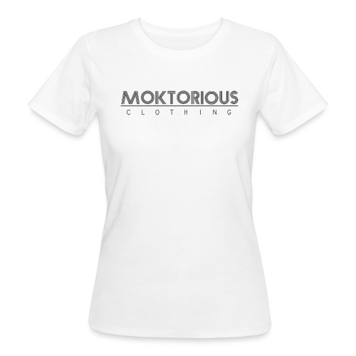 MOKTORIOUS CLOTHING - BLACK - VERTICAL - Frauen Bio-T-Shirt