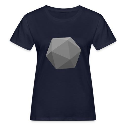 Grey d20 - D&D Dungeons and dragons dnd - Naisten luonnonmukainen t-paita