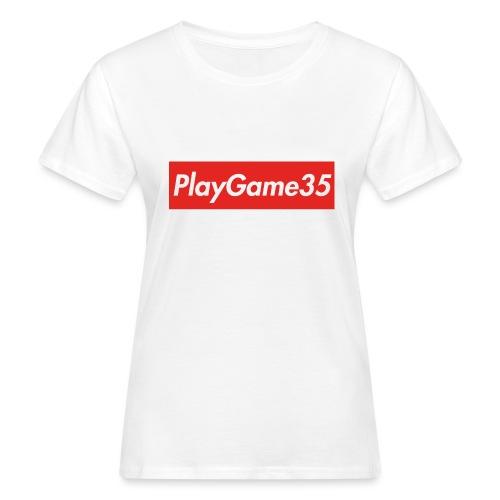 PlayGame35 - T-shirt ecologica da donna