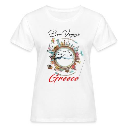 voyage Greece - Frauen Bio-T-Shirt