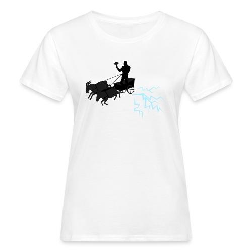 Åktor blå - Ekologisk T-shirt dam