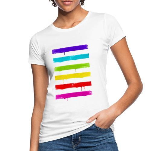 LGBT STRIPES - Frauen Bio-T-Shirt