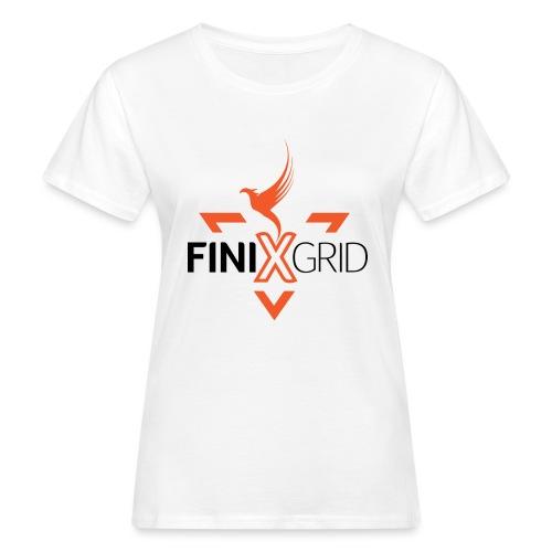 FinixGrid Orange - Women's Organic T-Shirt