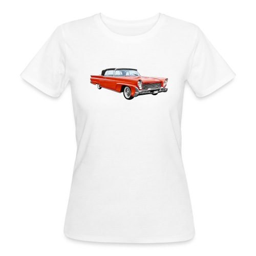Red Classic Car - Vrouwen Bio-T-shirt