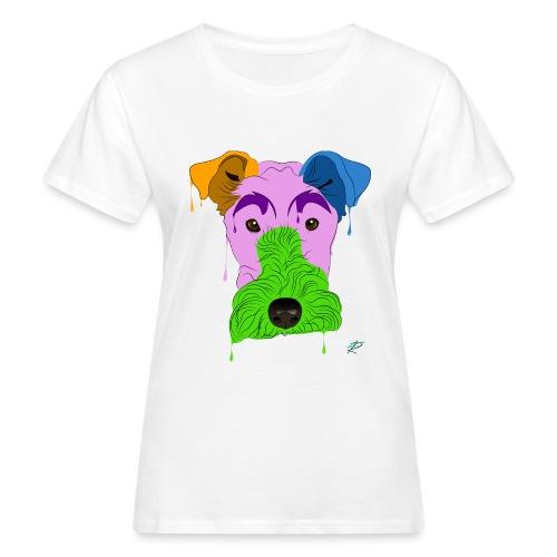 Fox Terrier - T-shirt ecologica da donna