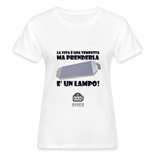 INTERCOOLER (nero) - T-shirt ecologica da donna