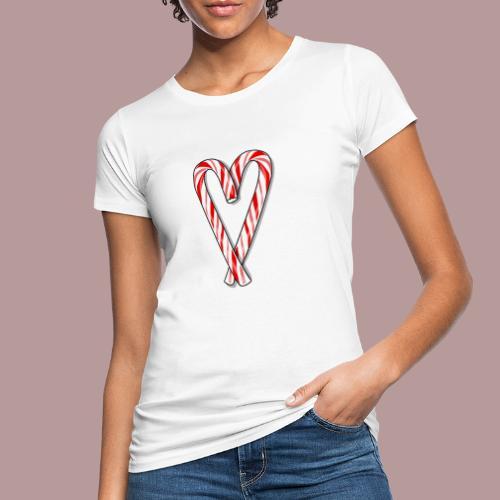Sucre d'orge en forme de coeur - T-shirt bio Femme