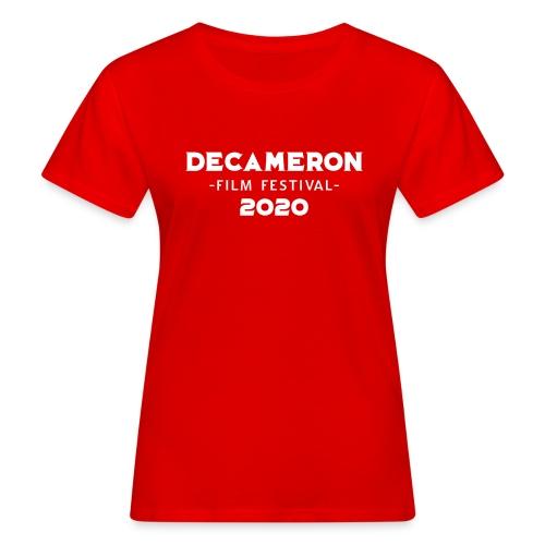 DECAMERON Film Festival 2020 - Women's Organic T-Shirt