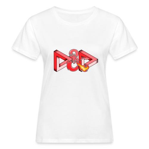 Pysyvät Dungeons and Dragons - dnd d & d - Naisten luonnonmukainen t-paita