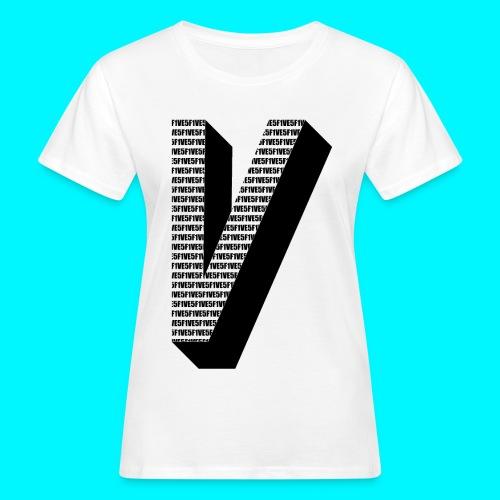FIVES big V - T-shirt bio Femme