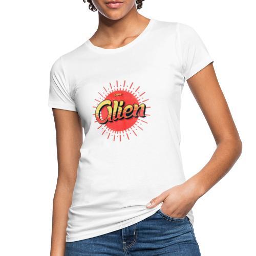 Alien Vintage Logo - Økologisk T-skjorte for kvinner