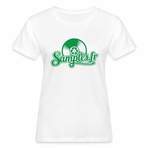 Samples.fr Vert - T-shirt bio Femme