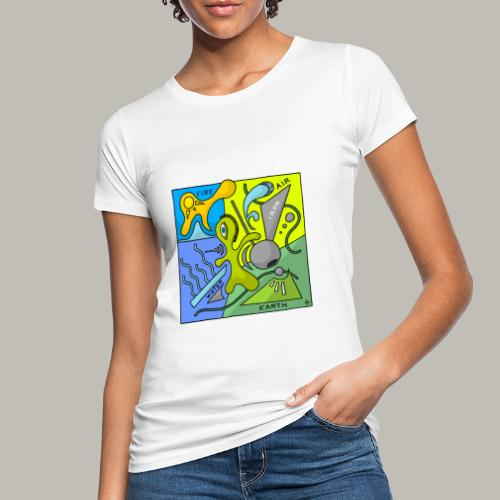 Earth 4 éléments - T-shirt bio Femme