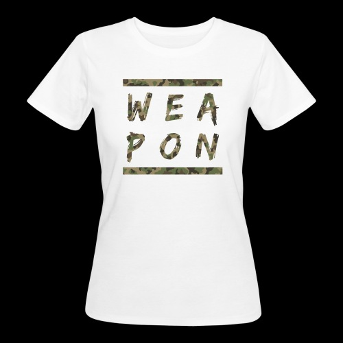 Weapon Camo - Women's Organic T-Shirt