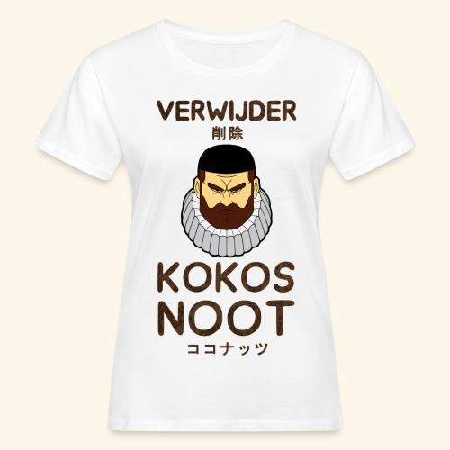 Verwijder Kokosnoot - Vrouwen Bio-T-shirt